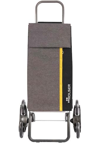 Rolser Einkaufstrolley »Logic RD6 Kangaroo Tweed«, mit 6 Rädern, zuzammenplappbar, Treppensteiger, Tasche abnehmbar kaufen