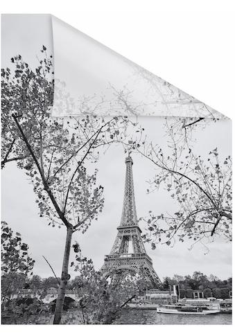 LICHTBLICK ORIGINAL Fensterfolie »Paris«, 1 St., blickdicht, strukturiertKlebepunkte,... kaufen