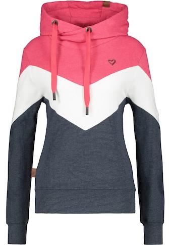 Alife & Kickin Sweater »StellaAK«, sportiver Hoodie in Kontrastfarben kaufen