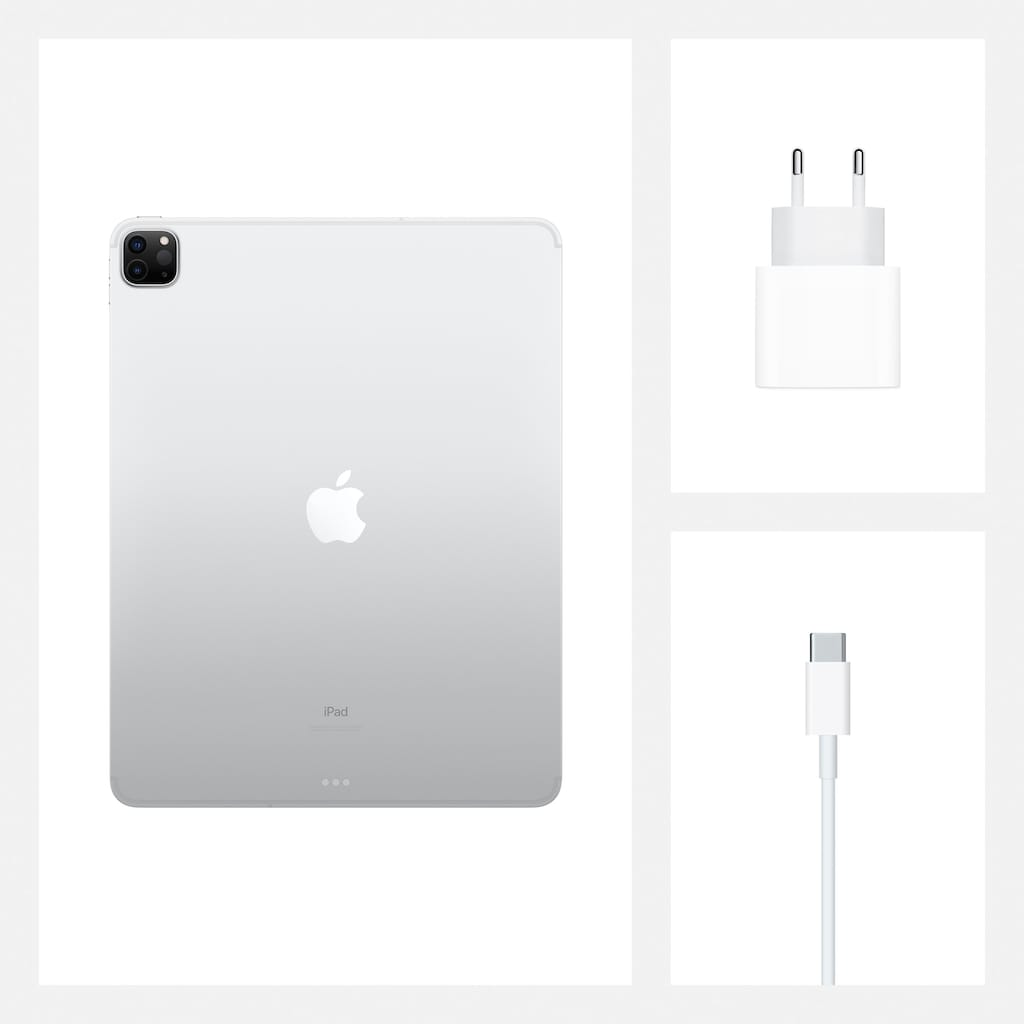 Apple Tablet »iPad Pro 12.9 (2020) - 1 TB Cellular«, Kompatibel mit Apple Pencil 2