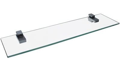 FACKELMANN Ablageregal »Glasablage«, Wandmontage, 40 cm kaufen