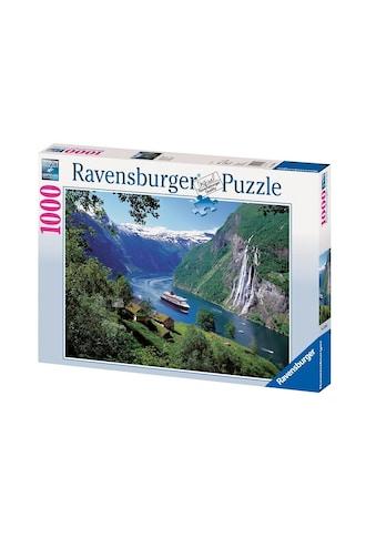 Ravensburger Puzzle »Norwegischer Fjord«, Made in Germany, FSC® - schützt Wald - weltweit kaufen