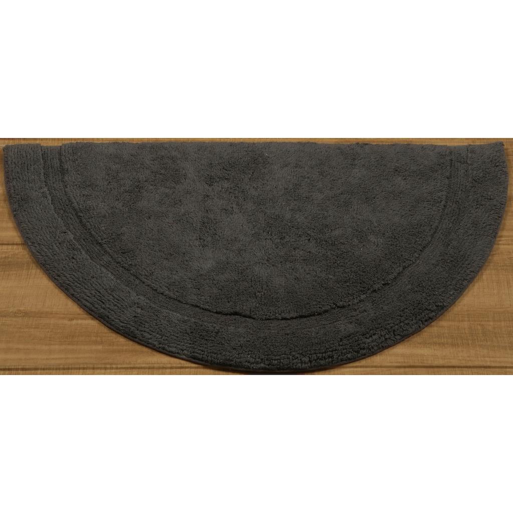 Leonique Badematte »Weida«, Höhe 14 mm, beidseitig nutzbar, aus recycelter Baumwolle