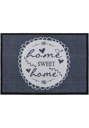 Andiamo Fußmatte »Home Sweet Home«, rechteckig, 5 mm Höhe, Schmutzfangmatte,... kaufen