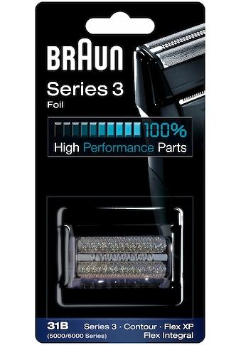 Braun Ersatzscherteil »31 B«, für die älteren Series 3 Rasierer bis 2014 kaufen