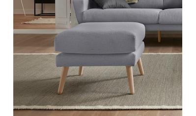 andas Hocker »Bille«, mit Eiche-Beinen, Design by Morten Georgsen kaufen