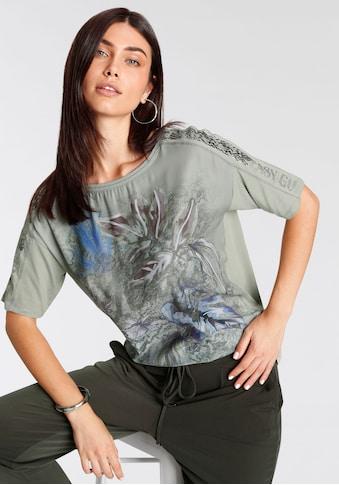 Betty Barclay Rundhalsshirt, mit Frontprint kaufen