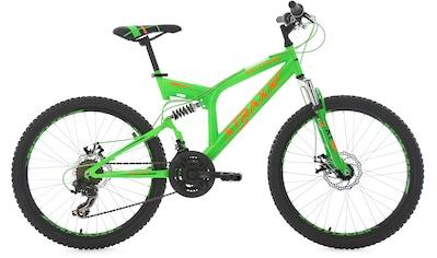 KS Cycling Jugendfahrrad »XTRAXX«, 21 Gang, Shimano, Tourney Schaltwerk, Kettenschaltung kaufen