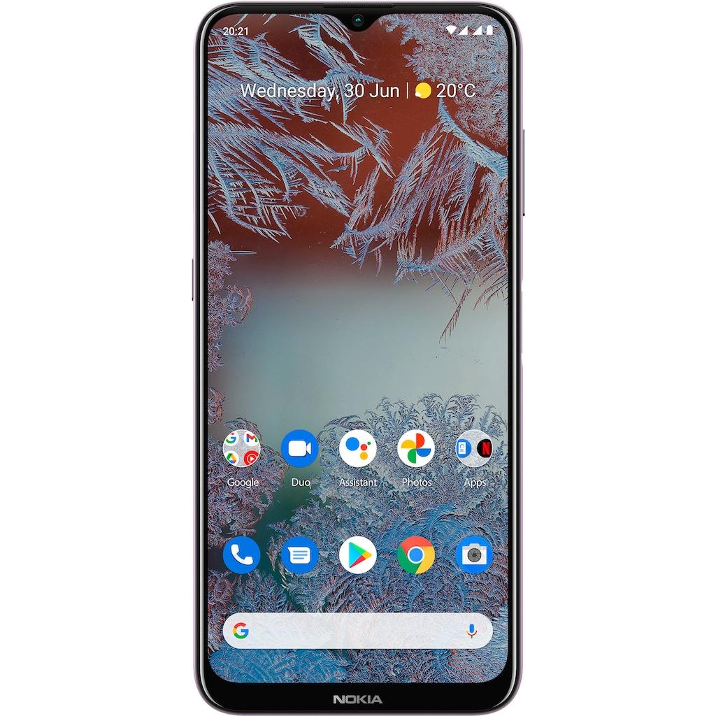 "Nokia Smartphone »G10, 3+32GB, Dual-SIM«, (16,54 cm/6,51 "", 32 GB Speicherplatz, 13 MP Kamera)"