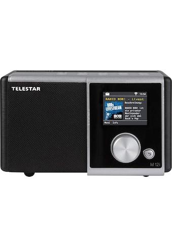 TELESTAR Internet-Radio »M 12i«, ( Digitalradio (DAB+)-FM-Tuner-Internetradio ), USB... kaufen
