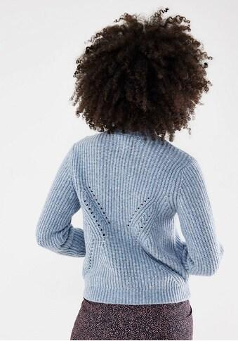 Mexx Stehkragenpullover, mit Knopfleiste an Schulter kaufen