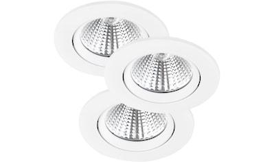 Nordlux LED Einbauleuchte »Freemont 3 Kit«, LED-Board, Warmweiß, 3er Set kaufen