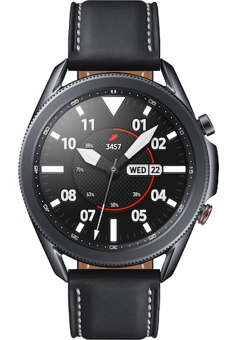 Samsung Galaxy Watch 3, Edelstahl, 45 mm, LTE (SM - R845) Smartwatch (3,4 cm / 1,4 Zoll, Android Wear) kaufen