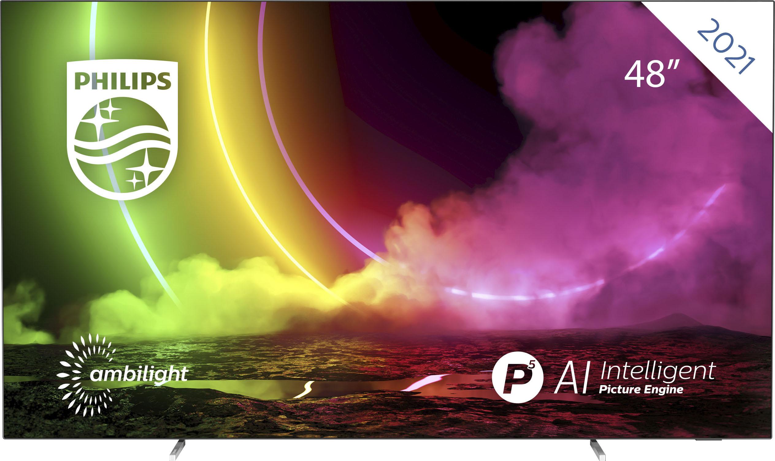 Philips OLED-Fernseher 48OLED806 12 , 121 cm 48 , 4K Ultra HD, Smart-TV
