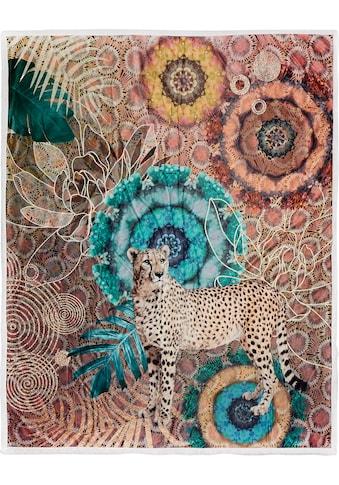 hip Plaid »Zenta«, mit Mandalas und Leopard kaufen