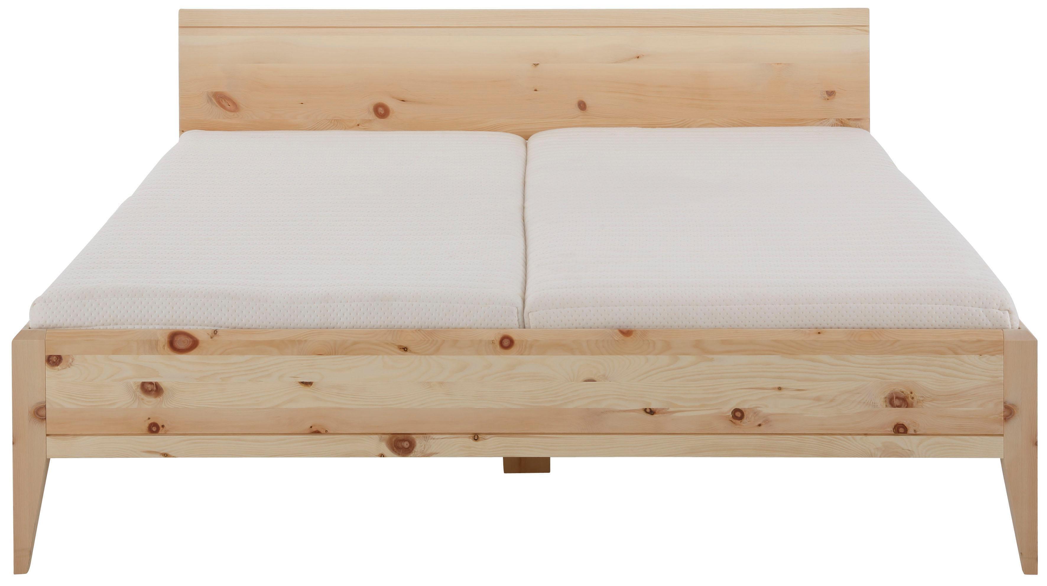 Premium Collection By Home Affaire Zirben Massivholz Bett Minimus 100 Vegan Und Metallfrei Allergiker Geeignet