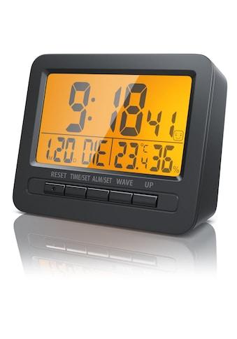 BEARWARE Digitaler Funk Wecker mit Temperatur & Luftfeuchtigkeitsanzeige »Reisewecker mit Funkuhr« kaufen