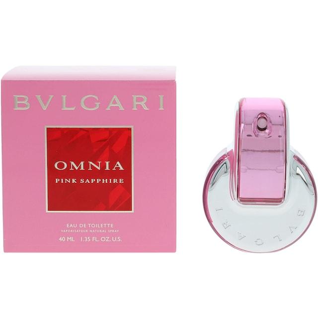 "BVLGARI Eau de Toilette ""Omnia Pink Sapphire"""