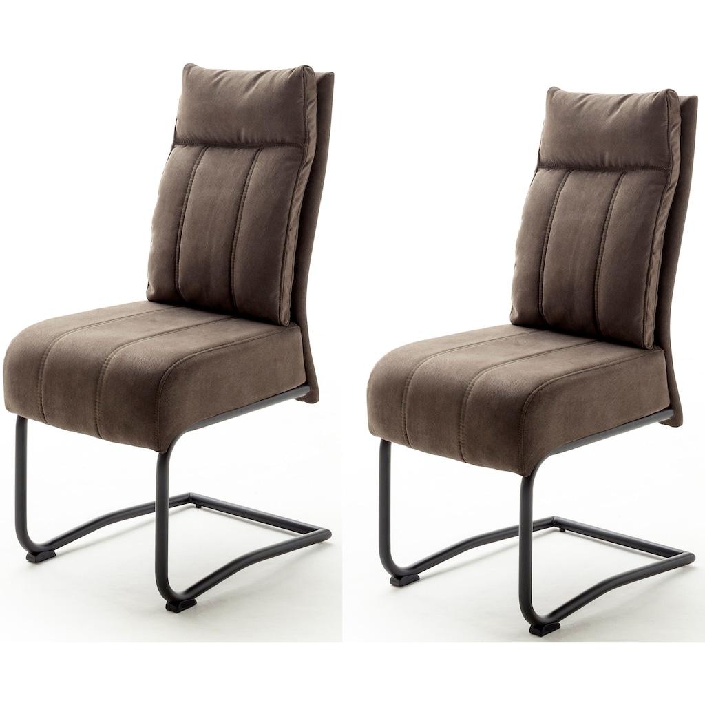 MCA furniture Freischwinger »Azul«, mit Taschenfederkern, Stuhl bis 120 Kg belastbar