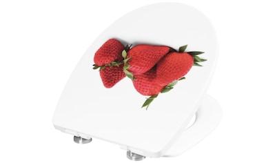 CORNAT WC-Sitz »Erdbeere«, mit Absenkautomatik kaufen