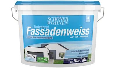 SCHÖNER WOHNEN-Kollektion Fassadenfarbe »Universal-Fassadenweiss 10,0L« kaufen