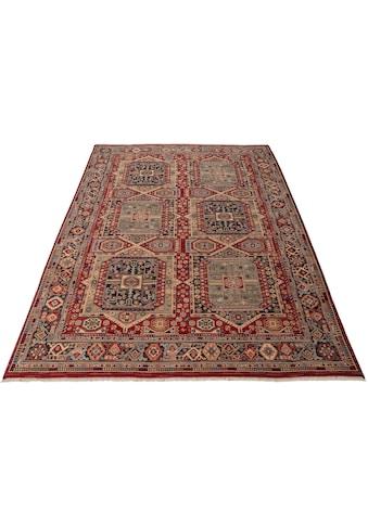 THEKO Wollteppich »Saharna 7275«, rechteckig, 10 mm Höhe, reine Wolle, Orient-Optik,... kaufen