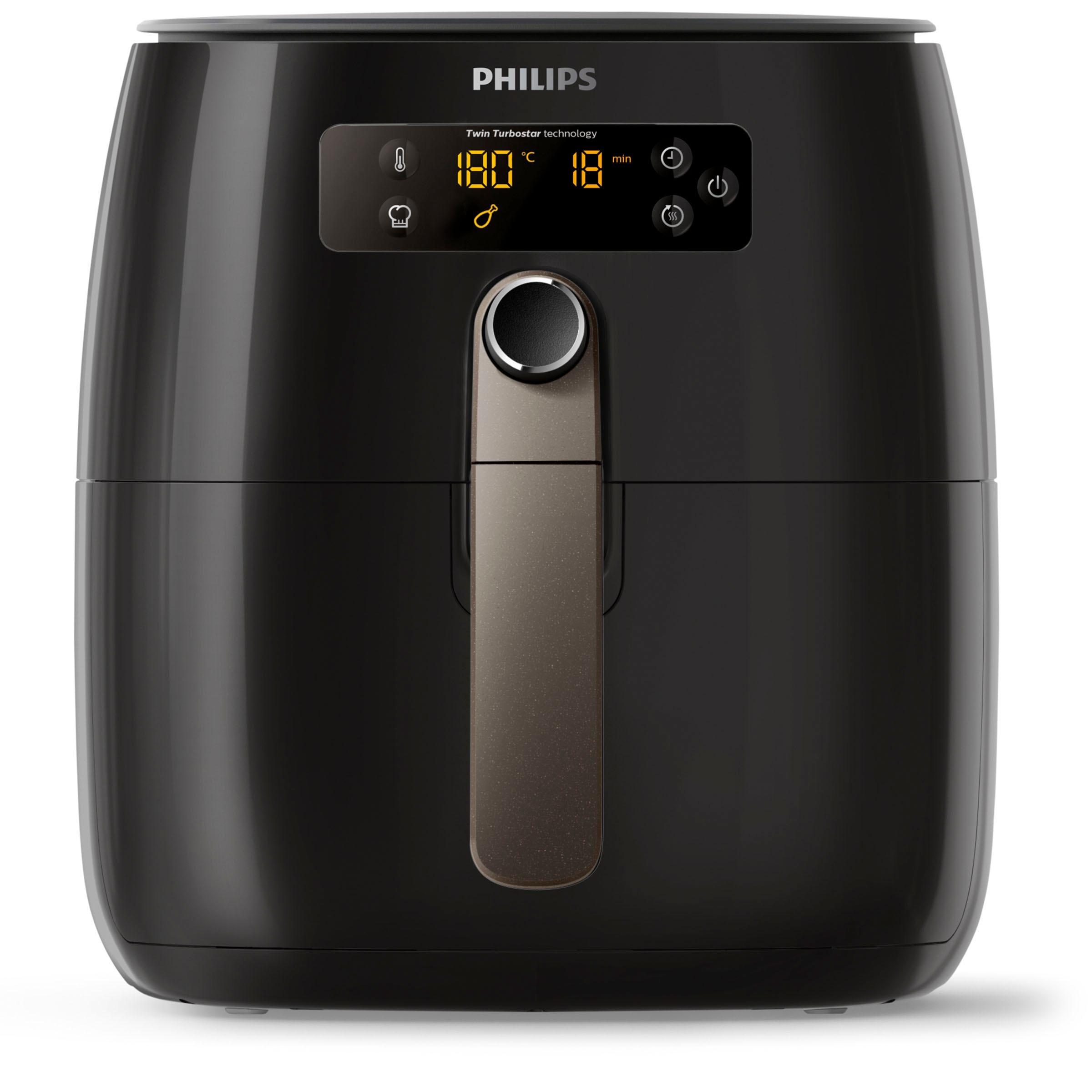Philips Heissluftfritteuse HD9741/10 Airfryer Avance Collection, 1500 Watt   Küche und Esszimmer > Küchengeräte > Fritteusen   Schwarz   PHILIPS