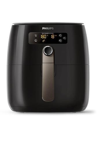 Philips Heissluftfritteuse »HD9741/10 Airfryer Avance Collection«, 800g für 2 - 3 Personen, Fassungsvermögen 0,8 kg kaufen