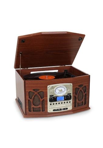 Auna Stereoanlage Plattenspieler MP3-Aufnahme CD Player Kompaktanlage kaufen