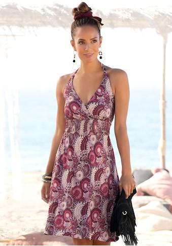 LASCANA Neckholderkleid, mit Alloverprint kaufen