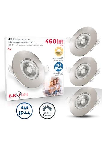 B.K.Licht LED Einbauleuchte, LED-Board, Warmweiß, LED Einbaustrahler Bad Spots Lampe... kaufen