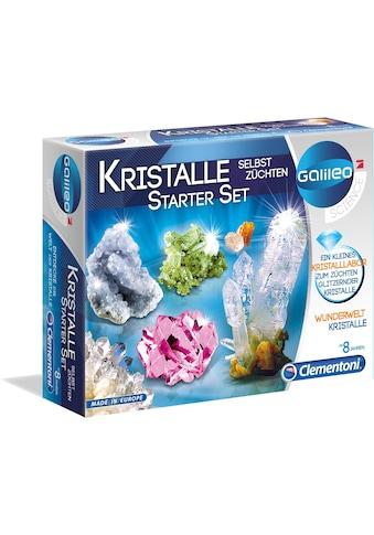 Clementoni® Experimentierkasten »Galileo - Kristalle selbst züchten, Starter-Set«, Made in Europe kaufen