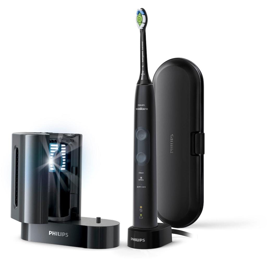 Philips Sonicare Elektrische Zahnbürste »HX6850/57«, 1 St. Aufsteckbürsten, Schallzahnbürste