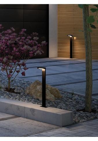 Paulmann LED Pollerleuchte »Solar Ryse Anthrazit mit Bewegungsmelder 3000K 100lm«,... kaufen