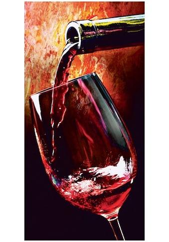 Home affaire Glasbild »Wine« kaufen