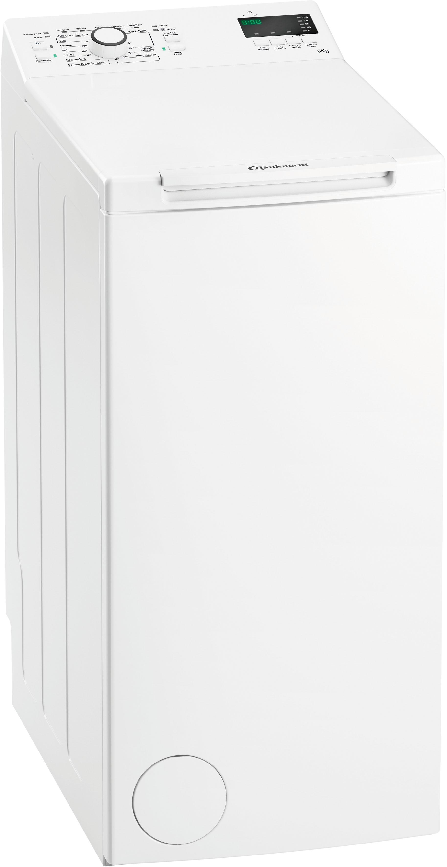 BAUKNECHT Waschmaschine Toplader WAT Prime 652 Di | Bad > Waschmaschinen und Trockner > Toplader | Bauknecht