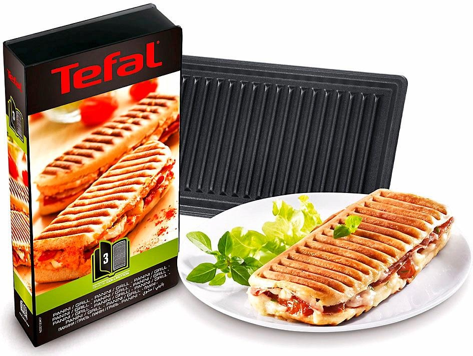Tefal Platte Grill/Panini XA8003, Zubehör Snack-Collection