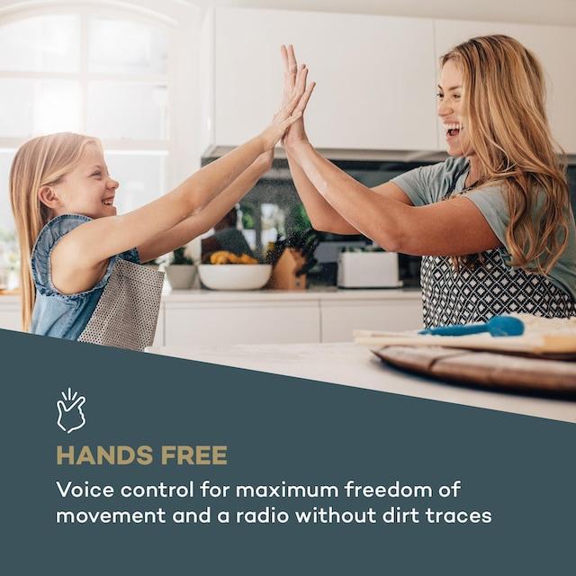 Auna Küchenradio Alexa-VoiceControl Spotify BT weiß »Intelligence DAB+«