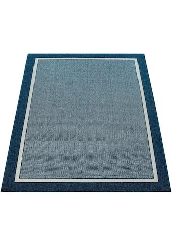 Paco Home Teppich »Brugge 225«, rechteckig, 4 mm Höhe, mit Bordüre, In- und Outdoor... kaufen