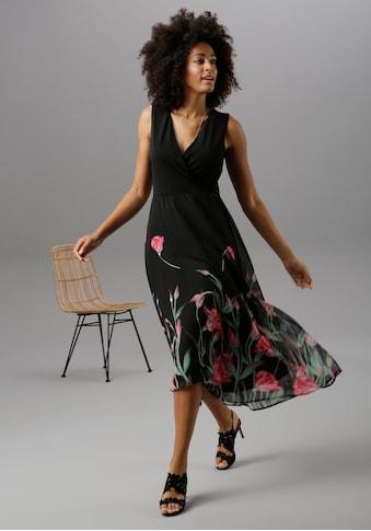 Aniston SELECTED Sommerkleid, mit floralem Druck kaufen