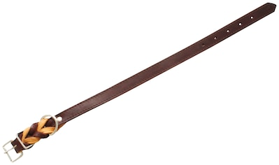 HEIM Hunde-Halsband »Zugspitze«, Echtleder, braun, Länge: 32-65 cm kaufen