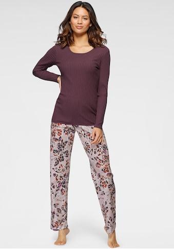 Cybèle Pyjama, (2 tlg.), mit Rippshirt kaufen