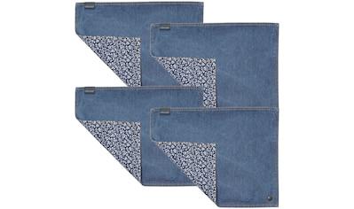 Platzset, »Jeans Sweet Allysum«, LAURA ASHLEY BLUEPRINT COLLECTABLES (Set, 4 - tlg.) kaufen