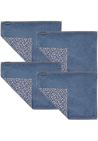 LAURA ASHLEY BLUEPRINT COLLECTABLES Platzset »Jeans Sweet Allysum«, (Set, 4 St.) kaufen