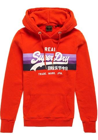 Superdry Kapuzensweatshirt »VL RETRO RAINBOW HOOD« kaufen