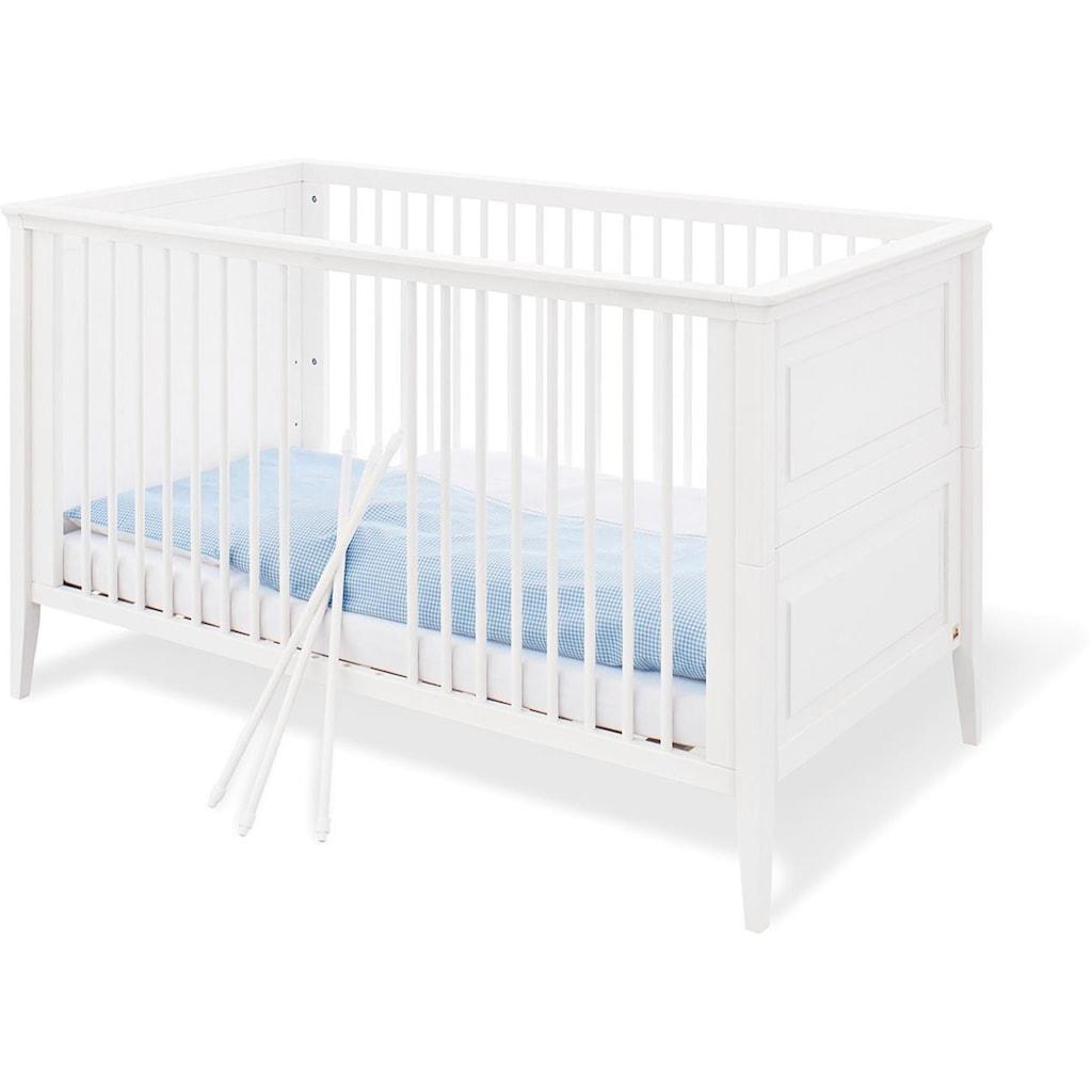 Pinolino® Babyzimmer-Komplettset »Smilla«, (Set, 3 St.), breit groß; mit Kinderbett, Schrank und Wickelkommode; Made in Europe