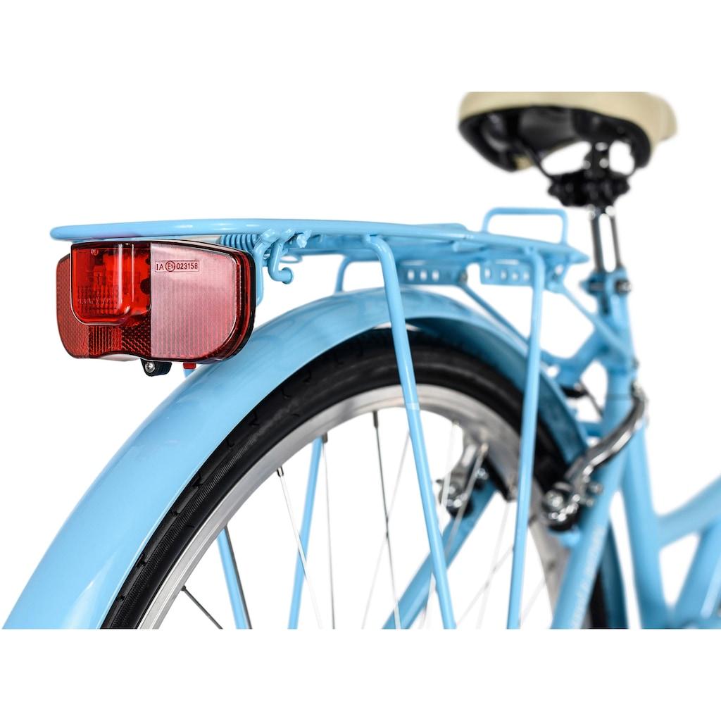 KS Cycling Cityrad »Toscana«, 6 Gang, Shimano, Tourney Schaltwerk, Kettenschaltung