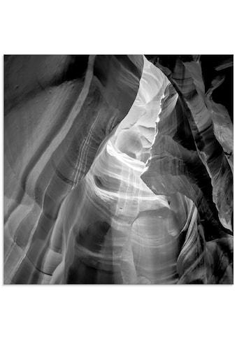 Artland Glasbild »Antelope Canyon IV«, Amerika, (1 St.) kaufen