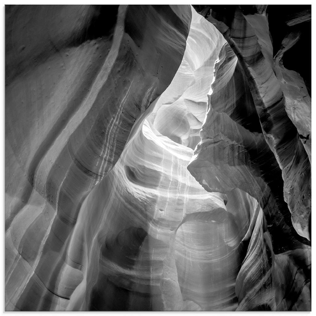Artland Glasbild »Antelope Canyon IV«, Amerika, (1 St.)