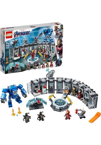 LEGO® Konstruktionsspielsteine »Iron Mans Werkstatt (76125), LEGO® Marvel Super Heroes™«, (524 St.), Made in Europe kaufen
